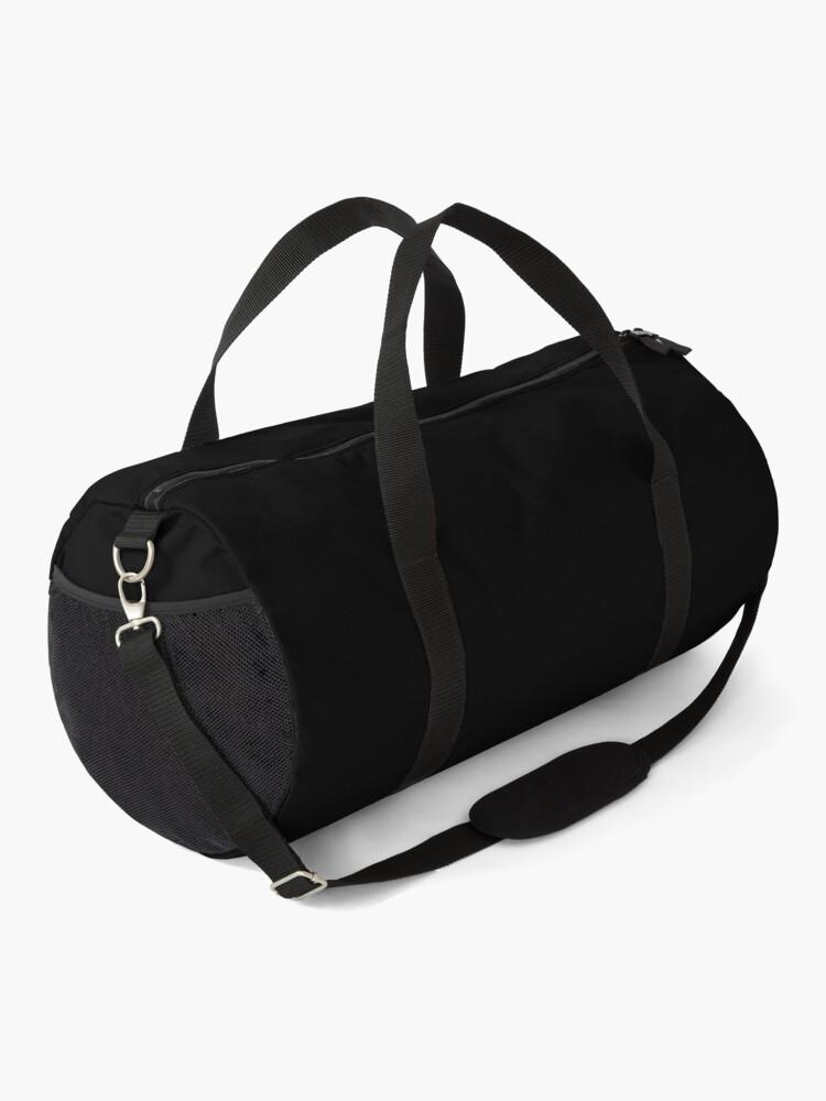 Alternate view of Nobody Calls Me Chicken BTTF Duffle Bag