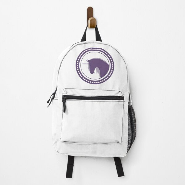 Purple MONOKERUS Badge Backpack