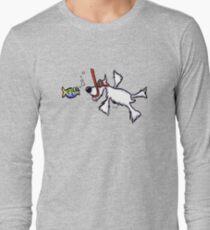 White Schnauzer Snorkel Buddy T-Shirt