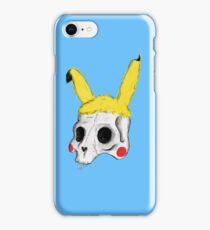 The Skull of Pikachu iPhone Case/Skin