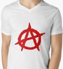 Anarchy Shirt Men's V-Neck T-Shirt