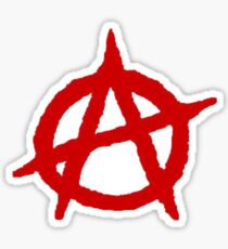 Anarchy Shirt Sticker
