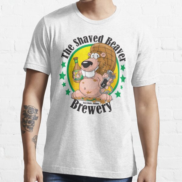 Shaved Beaver Brewery Essential T-Shirt