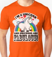 Fabulous Unicorn Unisex T-Shirt