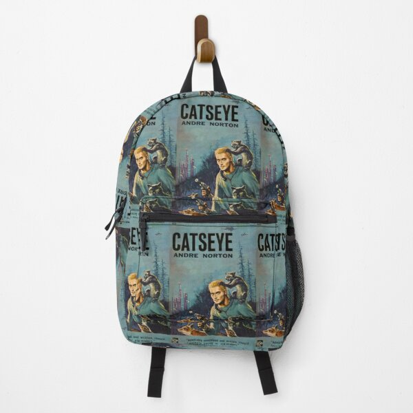 Cats Eye - vintage science fiction book cover Backpack