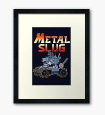 Metal Slug Tank Framed Print