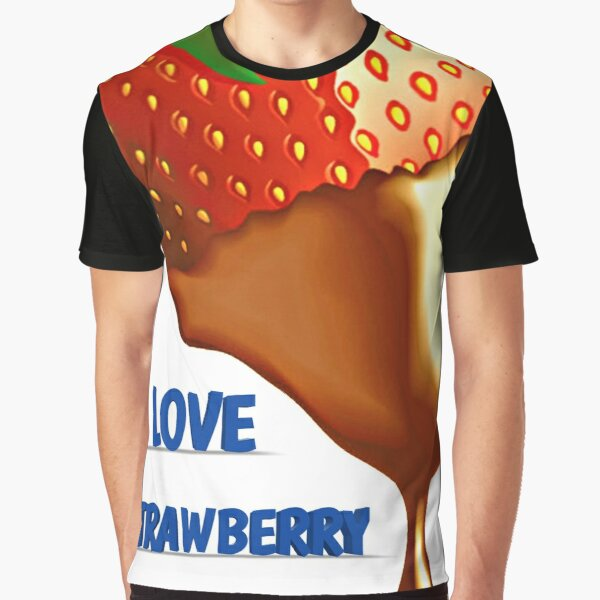 strawberry chocolate Graphic T-Shirt