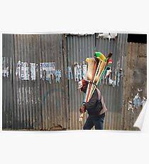 People 4223 La Paz, Bolivia Poster