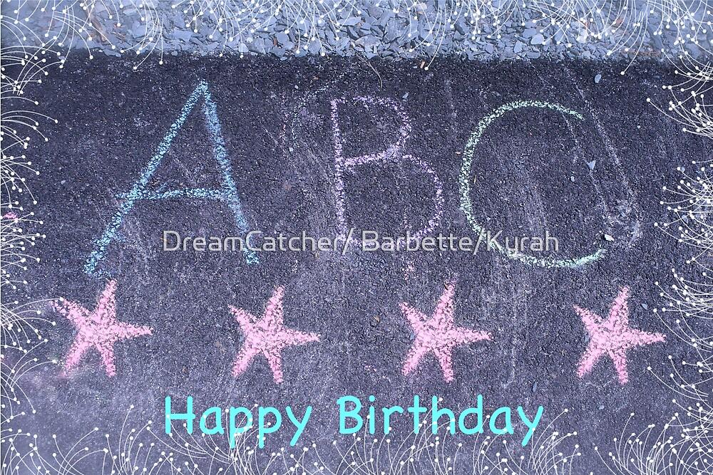 Birthday Card by DreamCatcher/ Kyrah