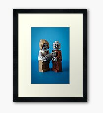 Zombie Family Portrait Framed Print