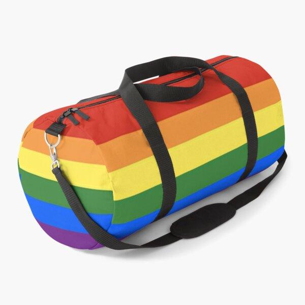 Rainbow LGBTQIA Pride Flag Duffle Bag