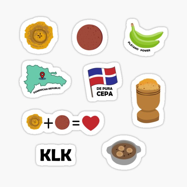 DOMINICAN PACK! Sticker