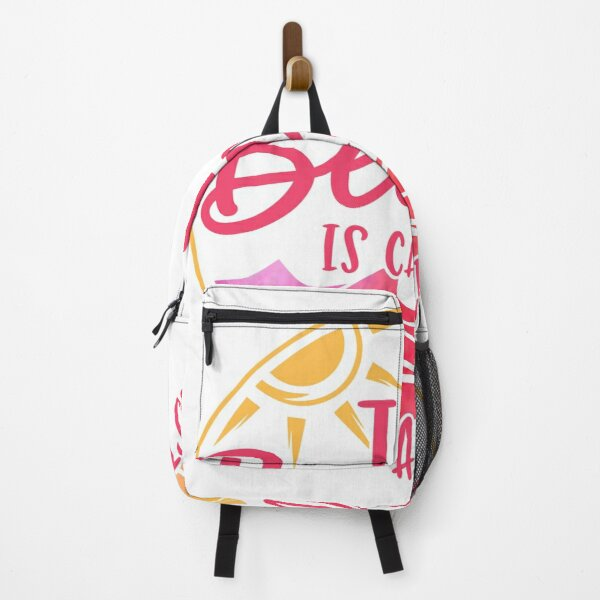 Sunset Beach is Calling  Backpack