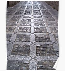 Paved street Poster