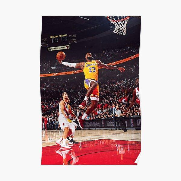 James 23 Jump Dunk Poster