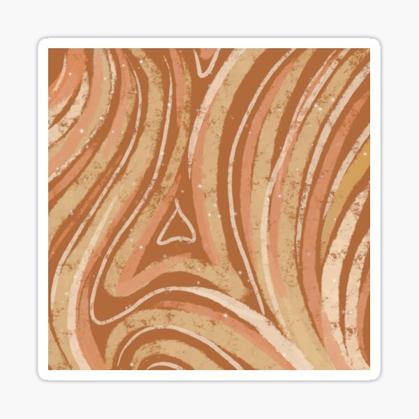 Abstract Magical Wood  Sticker