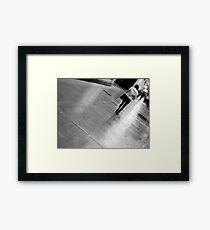 Urban Chase Framed Print
