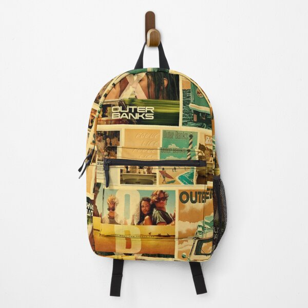 OUTER BANKS RETRO POSTERS COLLAGE Backpack