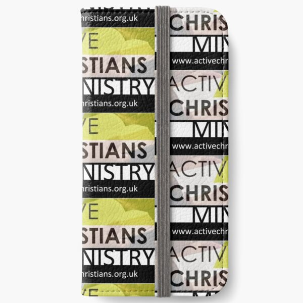 Active Christians Ministry Fundraising Design  iPhone Wallet