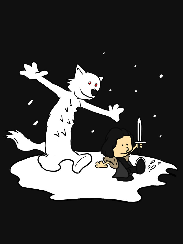Jon and Ghost | Unisex T-Shirt