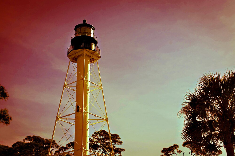Cape San Blas Lighthouse by jenseye