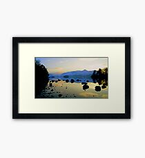 Derwent Water, Lake District National Park. Framed Print