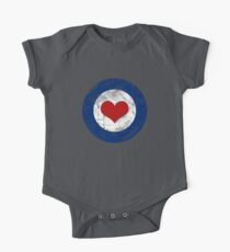Air Force Love One Piece - Short Sleeve