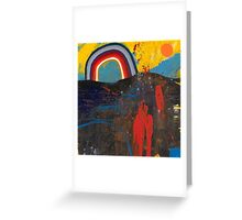 Number 2 (Rainbow Series) Greeting Card