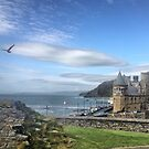 Castle, College and Constitution Hill  Aberystwyth  by cherisong
