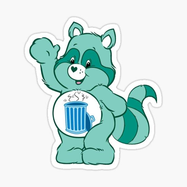 Lindo oso verde Pegatina