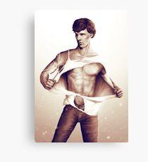Sexy Benedict Cumberbatch / Sherlock V1 Canvas Print