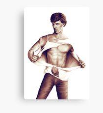 Sexy Benedict Cumberbatch / Sherlock V2 Canvas Print