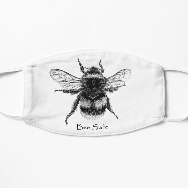 Bee Safe Illustration Mask