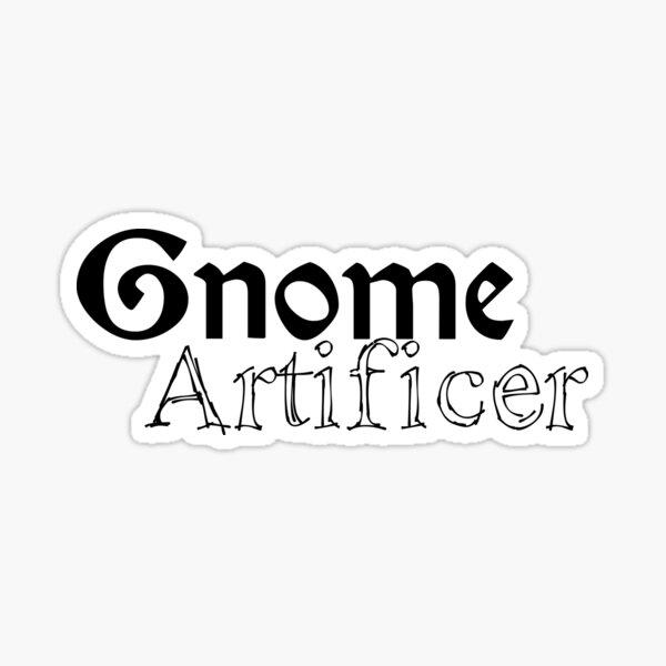 Gnome Artificer Sticker