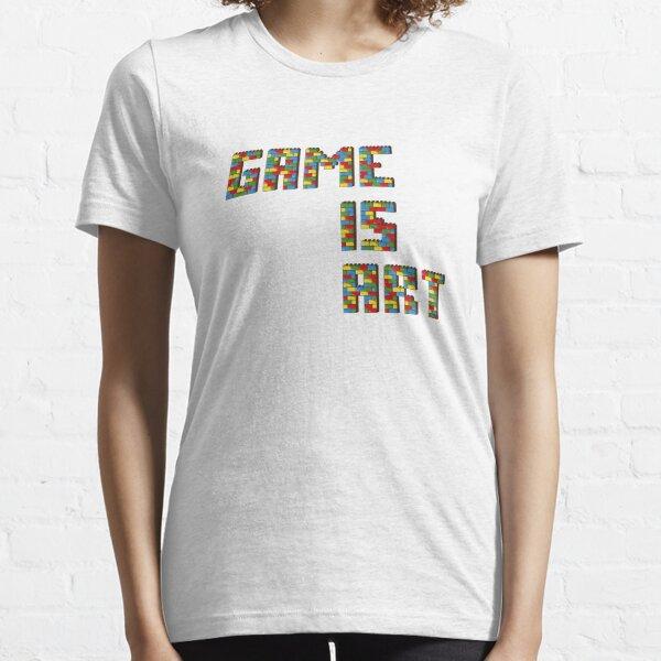El juego es art2 Camiseta esencial