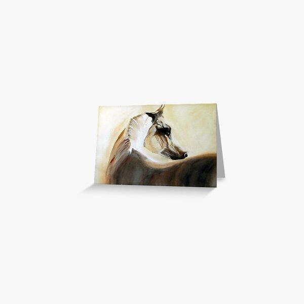 Mystical Arabian Greeting Card