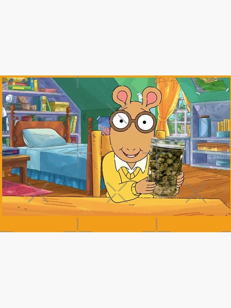Arthur + weed by Emilyyyk