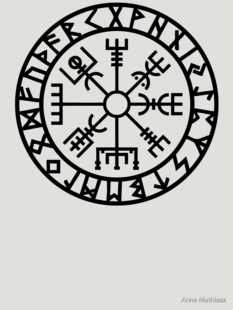 Vegvisir - Futhark - Runes - Navigator - Vikings by nitty-gritty