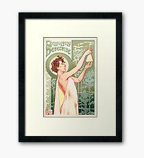 Absinthe Sherlock Framed Print