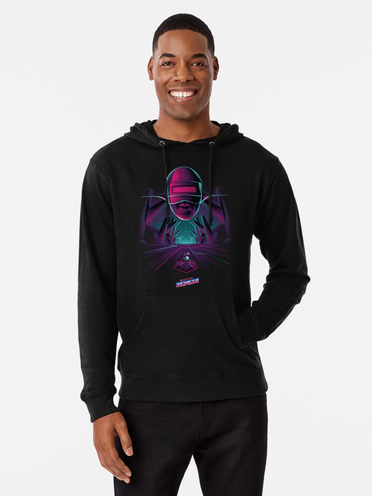 Alternate view of Synth Riders - Andromeda Lightweight Hoodie