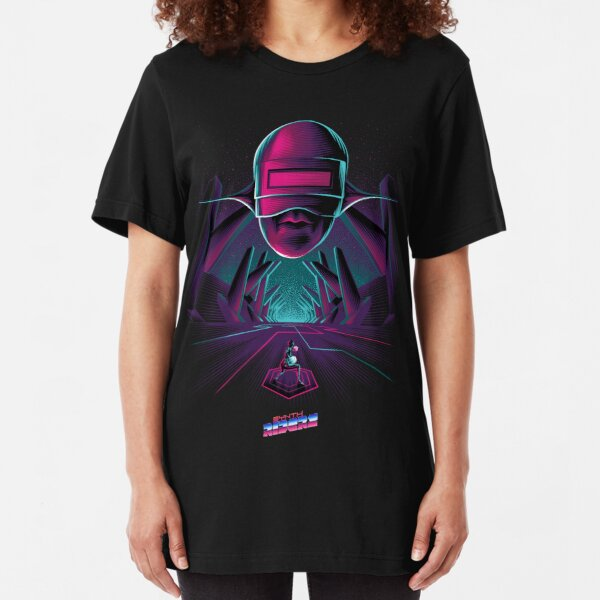 Synth Riders - Andromeda Slim Fit T-Shirt