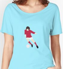 Minimalist George Best design Women's Relaxed Fit T-Shirt