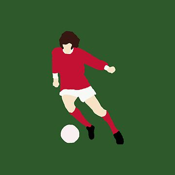 Minimalist George Best design by rodgers37