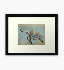 A Curious Friend Framed Print