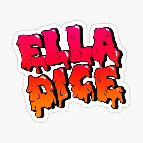 TINI Ella Dice Pegatina