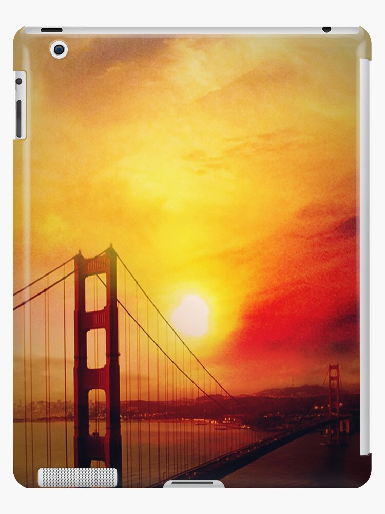 SF under a burning sunset-ipad by angeldragon069