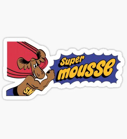 Super Mousse Sticker