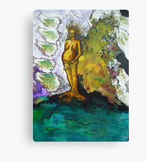 The tree dreams of the nut Canvas Print
