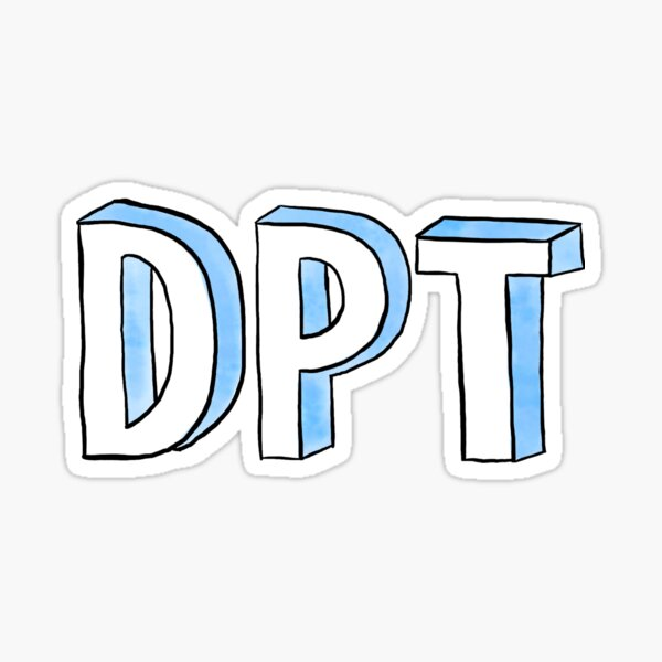DPT Blue Sticker