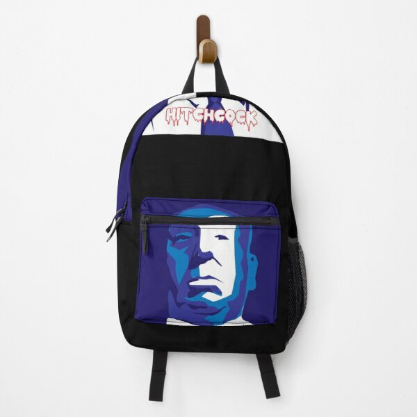 Portrait of Alfred Hitchcock Backpack